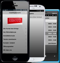 App Bild mit drei Smartphones